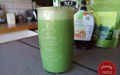 Morgana's Moringa Coconut Latte