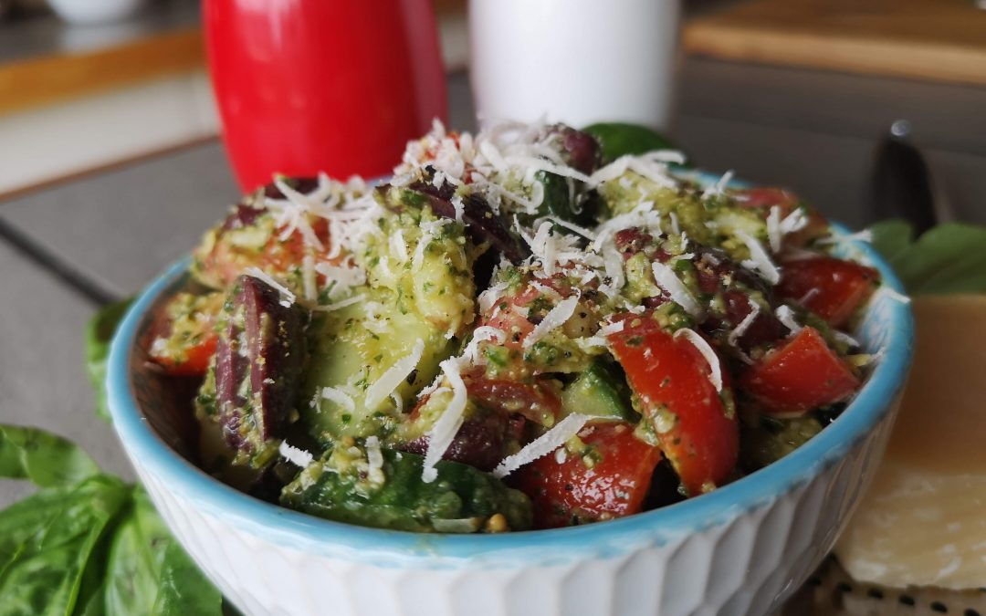 Leftover Potatoes??? Try This Delish Salad!
