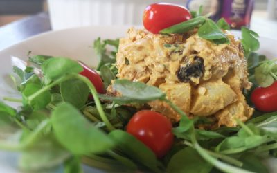 Lovin' the Leftovers: Curried Chicken and Potato Salad