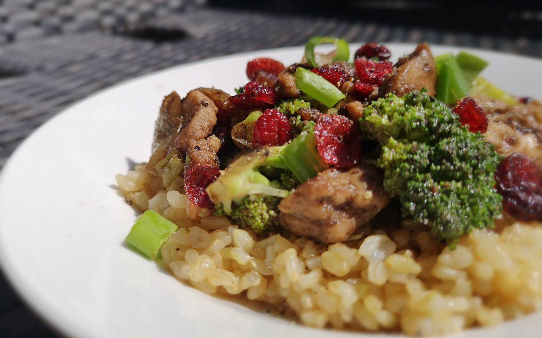 Five Spice Chicken Rice Bowls