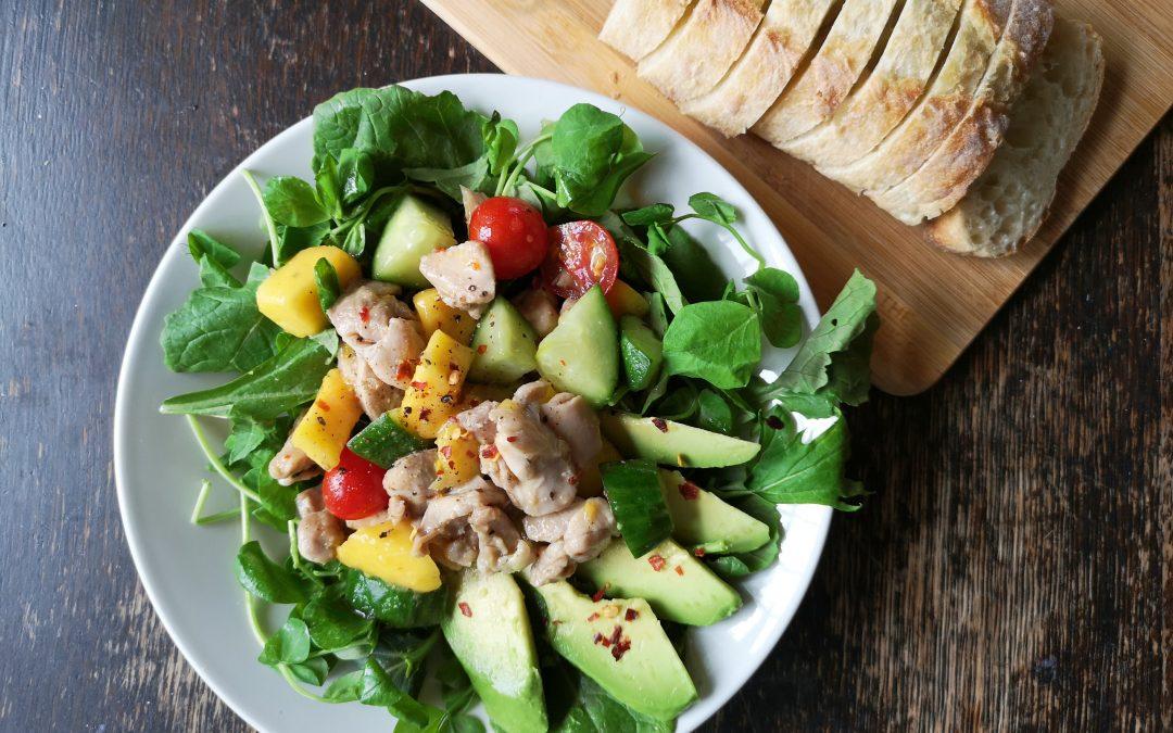 Chili Lime Chicken & Mango Salad