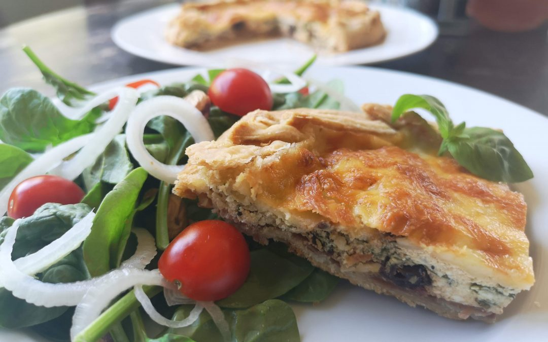Savory Ricotta Pie