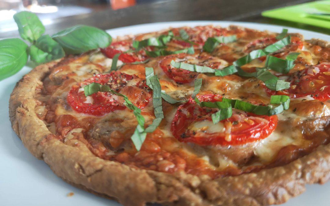 Savory Tomato, Mozzarella, & Sausage Tarts