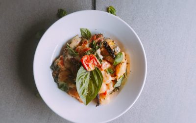 Baked Gnocchi in Tuscan Cream