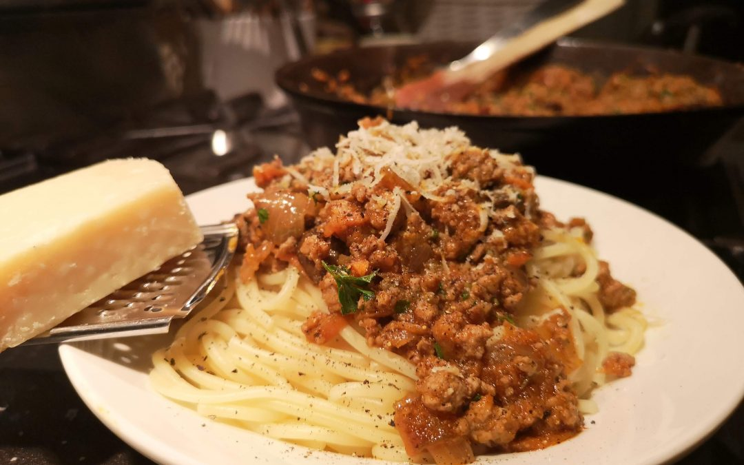 Spaghetti with Pork Ragu
